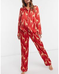 Chelsea Peers Premium - Completo pigiama lungo - Rosso