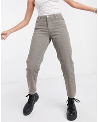Vila Cropped Straight Leg Jeans - Green