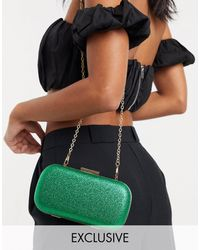 True Decadence Exclusive Clutch Bag - Green