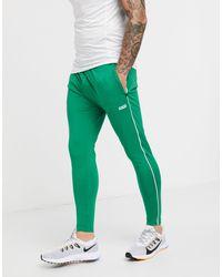 ASOS 4505 Joggers super skinny da allenamento con profili - Verde