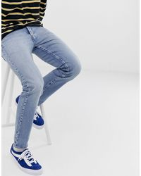 Levi's 501 - Smalle Smaltoelopende Jeans Met Lage Taille - Blauw