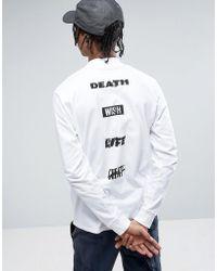 Carhartt WIP - Long Sleeve Highneck Wish Loose Fit T-shirt - Lyst