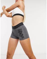 Nike Серые Шорты Nike Pro Training-серый