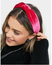 ASOS Knot Headband - Pink