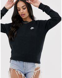 Nike - Essential Crew Sweatshirt - Lyst