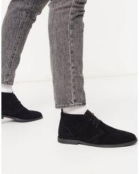 TOPMAN Desert Boot - Black
