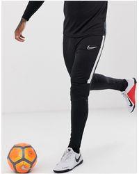 Nike Football Academy Trackies - Black