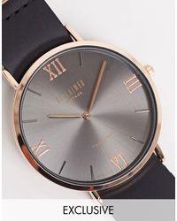 Reclaimed (vintage) Часы С Золотистой Отделкой Inspired-черный