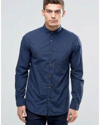Jack & Jones - Button Down Pocket Shirt - Lyst