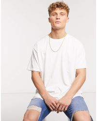 Brave Soul Oversized T-shirt - White