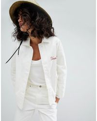 Uncivilised - Embroidered Workers Jacket - Lyst