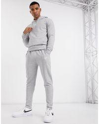 SIKSILK Tailored Trackies - Gray