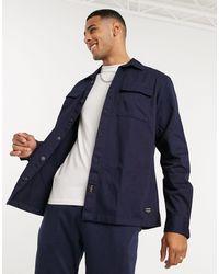 Jack & Jones Essentials Overshirt - Blue