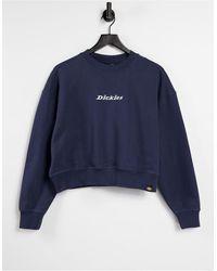 Dickies – Loretto – Kastenförmiges Sweatshirt - Blau