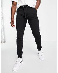 French Connection Черные Джоггеры Облегающего Кроя Tall Essentials-черный