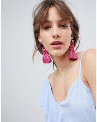 Ivyrevel - Gem And Tassel Earrings - Lyst