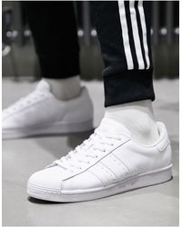 adidas Originals Top Ten - Hoge Sneakers - Zwart