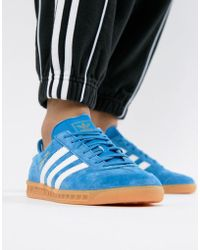 adidas originals london trainers navy