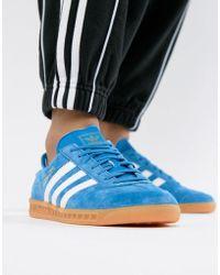 adidas Originals - Hamburg Unisex Trainers - Lyst