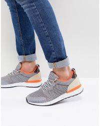 ALDO - Greiman Knitted Trainers In Grey - Lyst