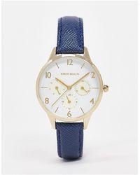 Karen Millen Quartz Watch Blue
