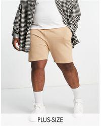 Threadbare Plus – Shorts - Natur