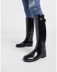 HUNTER Original - Stivali da pioggia alti nero lucido