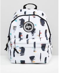 Hype Canopy Backpack - White