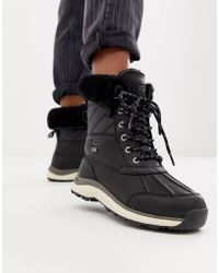 UGG Adirondack Quilted Ski Boot In Black