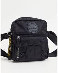 Dr. Martens Nylon Flight Bag - Black