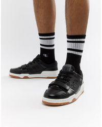 Champion - 3 On 3 Low Sneaker - Black - Lyst