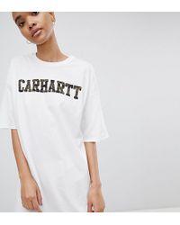Carhartt WIP - Camo Logo T-shirt Dress - Lyst