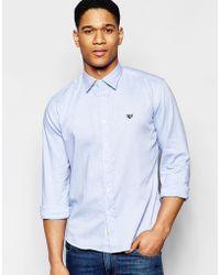 Franklin & Marshall - Franklin And Marshall Oxford Shirt - Lyst