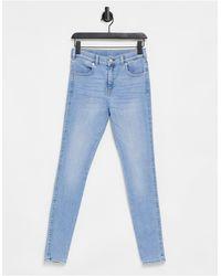 Dr. Denim Lexy - Jeans skinny, lavaggio chiaro - Blu