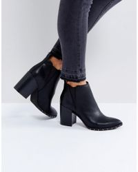 Office - Isabella Studded Heeled Ankle Boots - Lyst