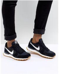 Nike - Черно-белые Кроссовки Internationalist-черный - Lyst
