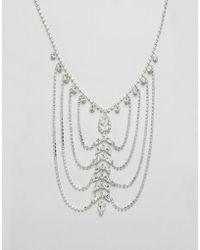 Krystal - Swarovski Crystal Mega Drape Necklace - Lyst