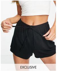 Lindex Shorts s - Negro