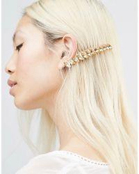 Krystal - Swarovski Crystal Marquise Hair Comb - Lyst