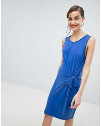SELECTED - Femme - Vestitino blu allacciato - Lyst