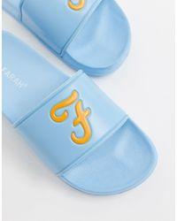 Farah Logo Slider - Blue