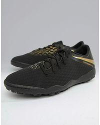 Nike Football Football Hypervenom Phantomx 3 - Baskets pour gazon synthétique - Noir - AJ3815-090