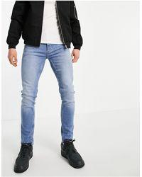 TOPMAN Jeans skinny - Blu