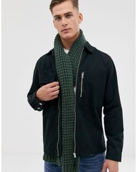ASOS Knitted Scarf - Green