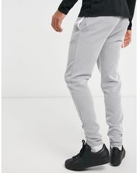 River Island Textured joggers - Blue