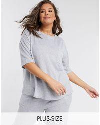 Simply Be T-shirt - Grey