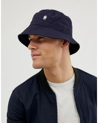 French Connection Bucket Hat - Blue