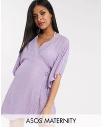 ASOS - ASOS DESIGN Maternity - Kimono - Lyst