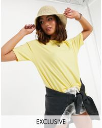 ONLY T-shirt - Yellow