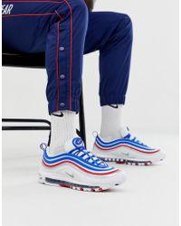 Nike Zapatillas de deporte blancas Air Max 97 - Blanco